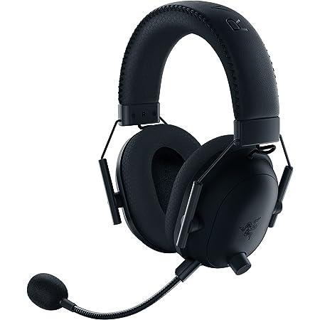 Razer BlackShark V2 Pro Wireless Gaming Headset: THX 7.1 Spatial Surround Sound - 50mm Drivers - Detachable Mic - for PC, PS5, PS4, Switch, Xbox One, Xbox Series X|S - Black