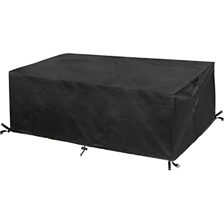 YGWQ Garden Furniture Covers,Outdoor Furniture Set Cover,Waterproof Anti-UV Patio Couch Table Cover,Tear-Resistant,for Garden Outdoor Indoor Furniture Table