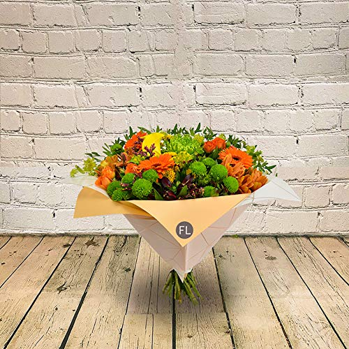 All Occasions Very Vibrant Hand-Tied, Beautiful Fresh Flowers, A Perfect Mother's Day Fresh Flower Gift