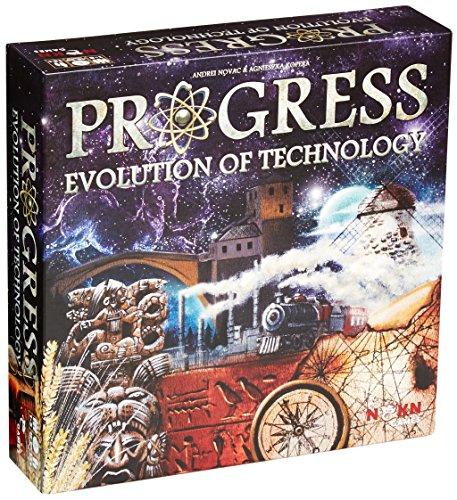 NSKN Legendary Games Progress Evolution of Technology Brettspiel