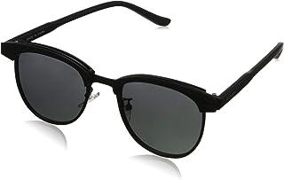 Kimorn Polarised Sunglasses Unisex Retro Half Rimless Metal Frame Lenses K0558