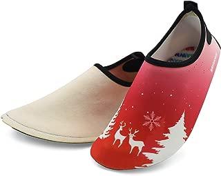 Kids Slippers, Bridawn Toddler Slipper Socks Cartoon Animal Anti-slip House Slip-on Shoes with Warm & Soft Plush Lining