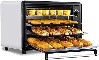 Mini Oven Cocina Horno 60L Home Baking Multi-función automática de Gran Capacidad Pastel Horno eléctrico, 120 Minutos Temporizador con bicarbonato de 4 Capas Grill