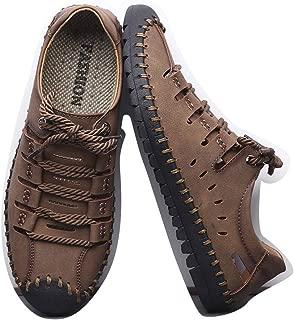 LUKEEXIN Sandals Men's Casual Shoes Men's Fashion Shoes Wild Men's Shoes