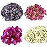 TooGet Blütenblätter Und Knospen Enthalten Lavendel, Rose, Gomphrena Globosa, Jasmin, Blume...