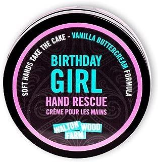 Walton Wood Farm Hand Rescue (Birthday Girl) Vanilla Buttercream Scent Vegan-Friendly and Paraben-Free 4 oz