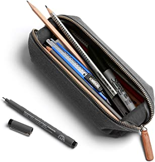 Bellroy Pencil Case, work accessories, woven fabric (pens, cables, stationery and personal items) - Mid Grey