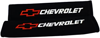 Melaka 2pcs set Red Logo Shoulder Pad Cover For Decoration Chevrolet Car Auto Design Enthusiast Lover Quantity