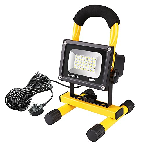Halogen Work Lamp Flood Light 150w Portable Garage: LED Work Lights: Amazon.co.uk
