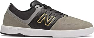 New Balance Numeric 533 Sneakers (Black-Grey) Men's Athletic Skate Shoes
