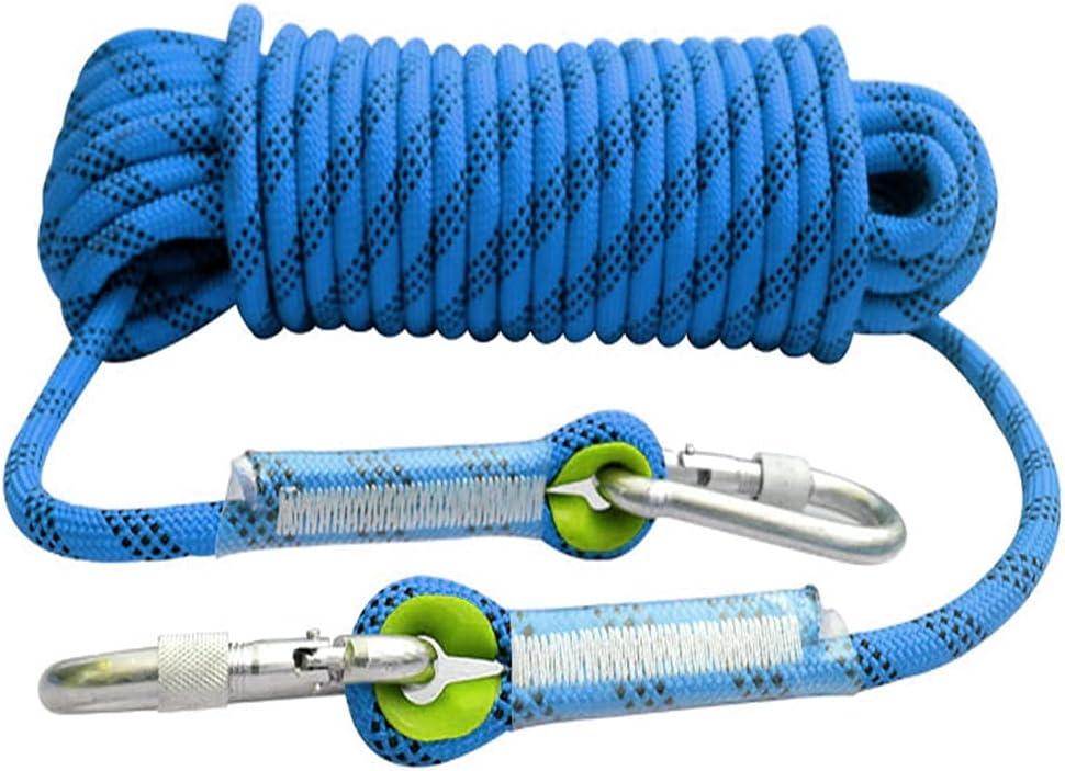 QHY Static Climbing Rope 14mm Strength Nylon Cord Safe shipfree High Max 83% OFF