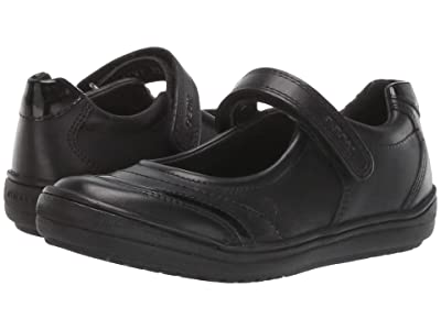 Geox Kids Jr Hadriel 16 (Little Kid/Big Kid) (Black Oxford) Girls Shoes