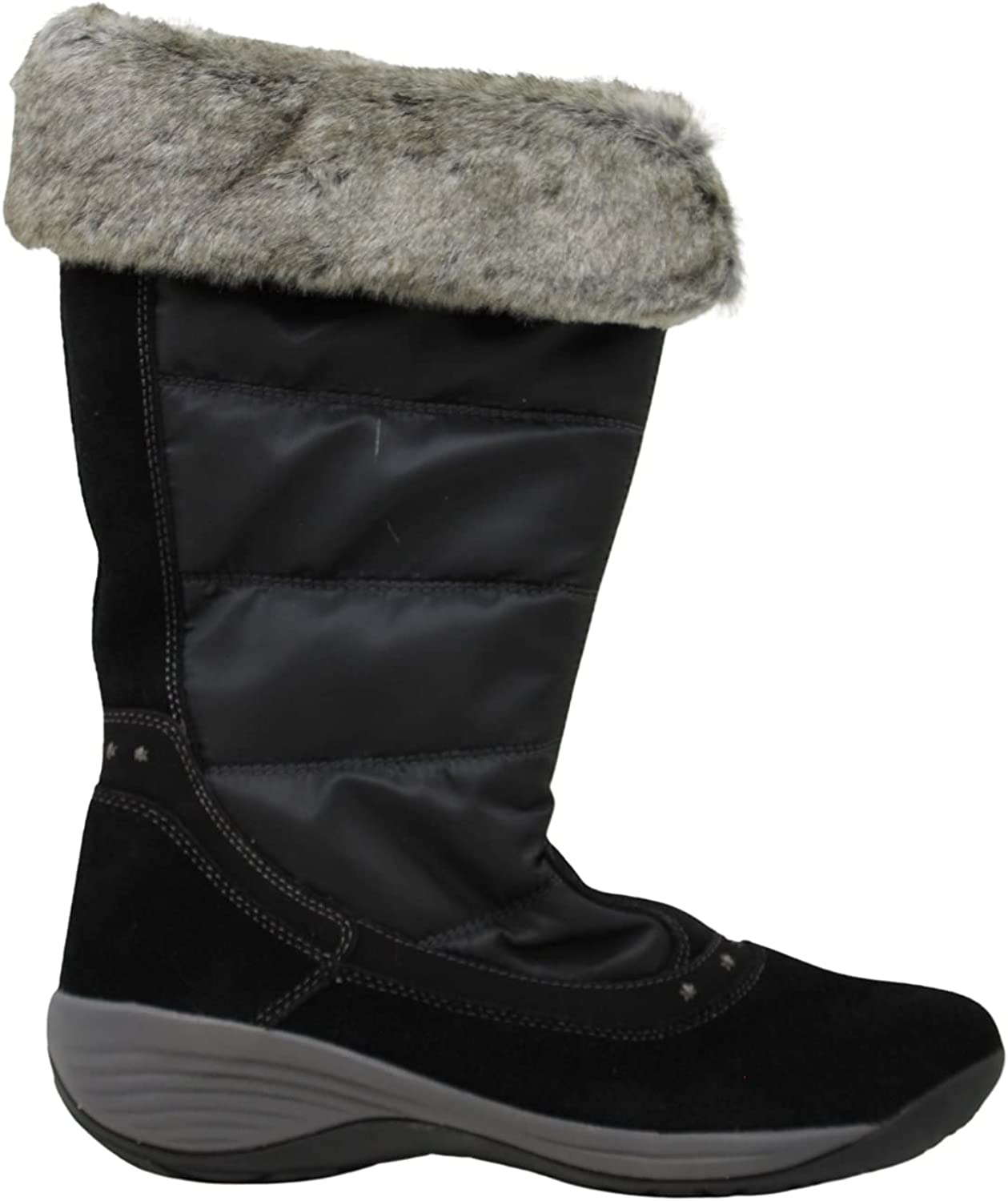 Easy Spirit Womens ICEBANK Closed Toe Mid-Calf Boots Cold Weather Boots