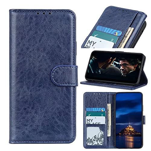Funda para Samsung Galaxy S22 Ultra, de piel a prueba de golpes, con cierre magnético, soporte para tarjeta, funda protectora de parachoques suave para Samsung Galaxy S22 Ultra