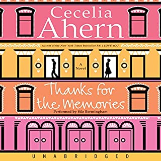 Thanks for the Memories audiobook cover art