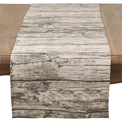 mesa madera natural de la marca SARO LIFESTYLE