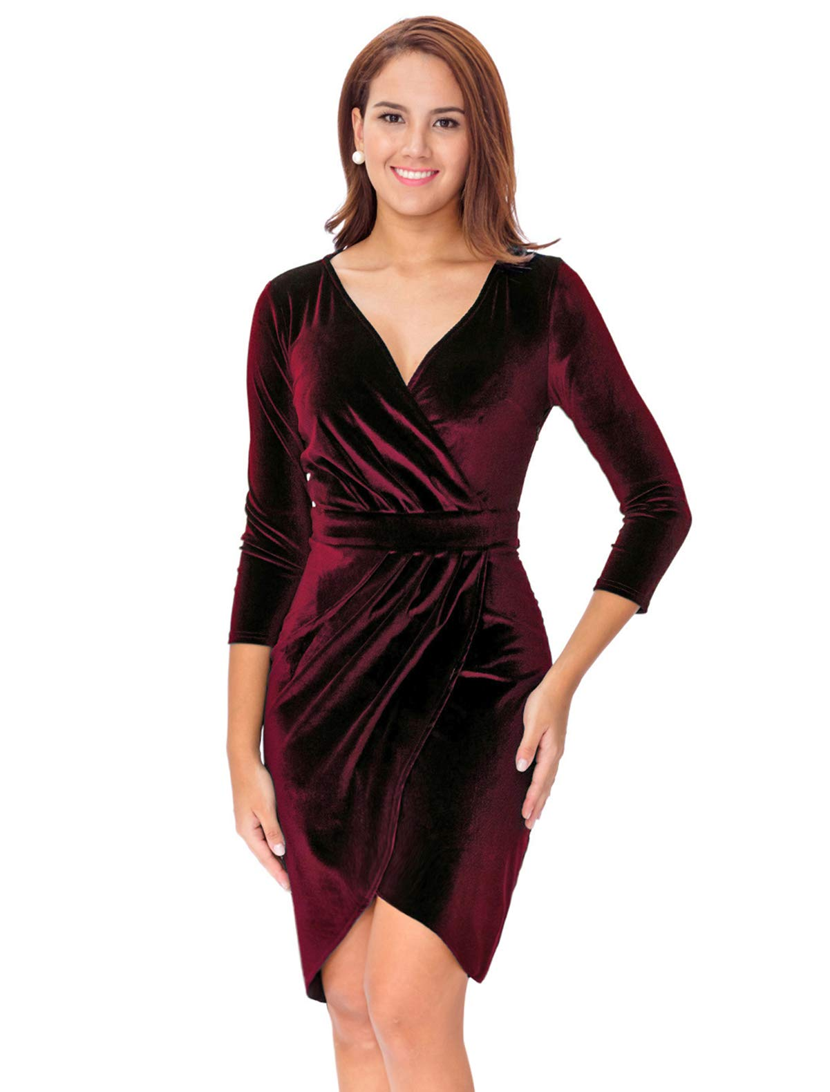 Wedding Guest Dresses - Women's Stretchy A Line Swing Flared Skater Cocktail Party Dress