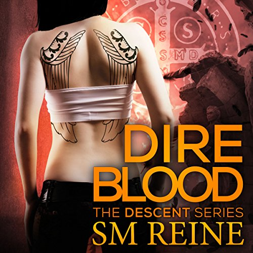 Dire Blood audiobook cover art