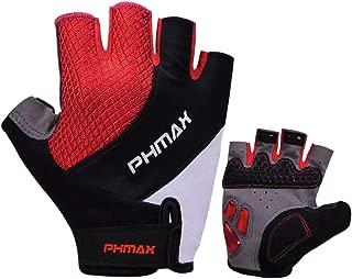 PHMAX Guantes de Bicicletas MTB,Ciclismo,Motos,Montaña,