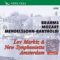 Brahms, Mozart - Lev Markiz & New Synphonietta Amsterdam Vol.1