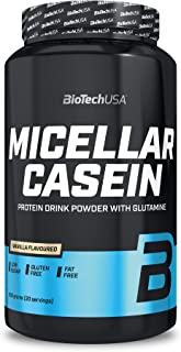 BioTechUSA Micellar Casein, Protein drink powder with Micellar Casein, sugar and sweetener, gluten-free, fat-free, 908 g, ...