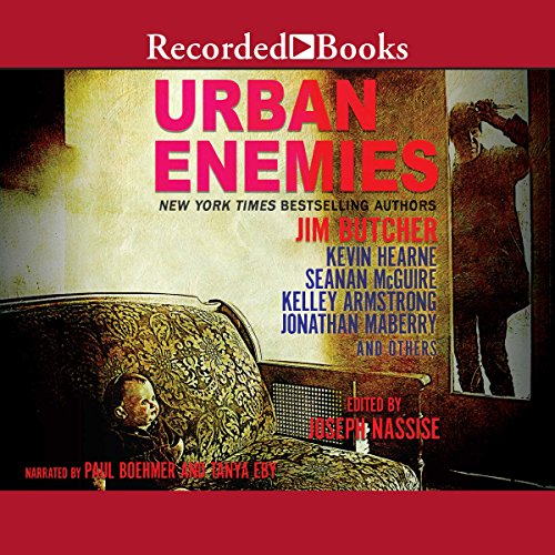 Urban Enemies audiobook cover art