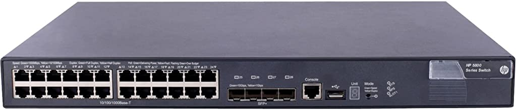 HP 5800-24G-PoE+ Switch
