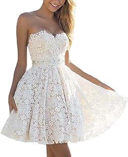 Abiti Bianchi Eleganti.Amazon It Vestiti Da Sposa Eleganti Bianchi Abbigliamento