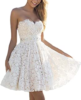 Vestiti Bianchi Eleganti.Amazon It Vestiti Da Sposa Eleganti Bianchi Abbigliamento