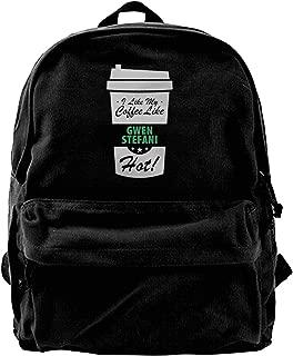 Boys I Like My Coffee Like Gwen Stefani Hot Funny Female Celeb Backpack