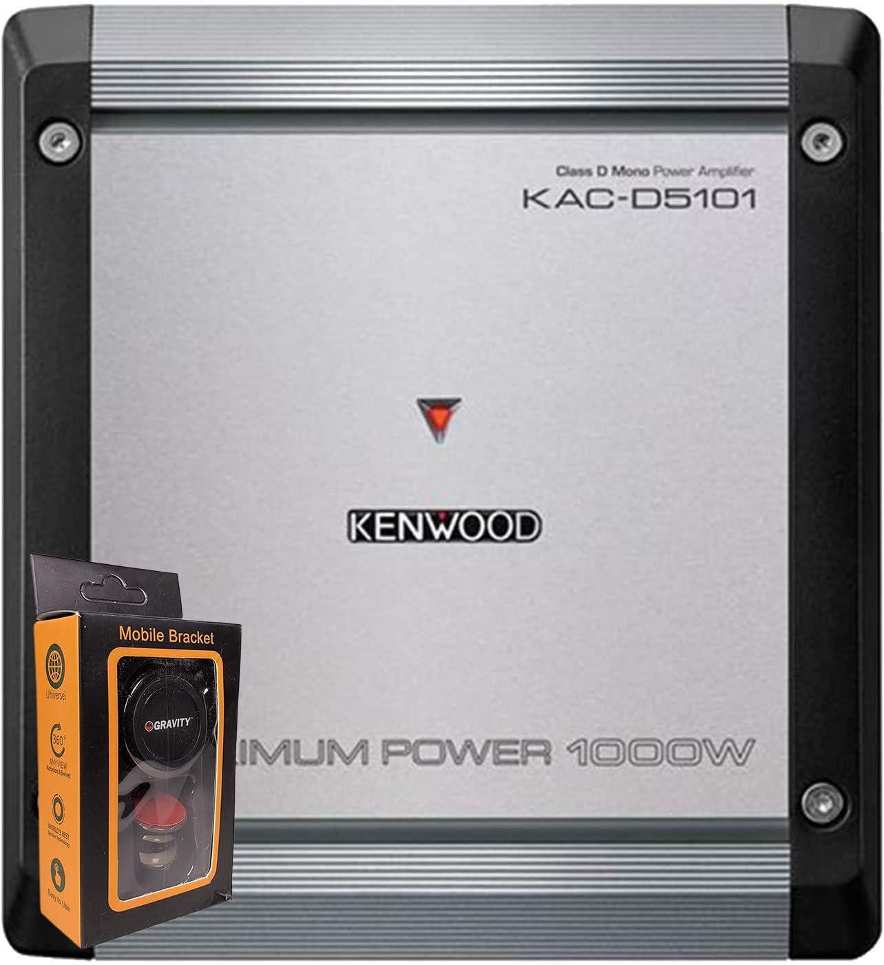 Kenwood KAC-M3001 Compact Mono Digital Amplifier Renewed ...