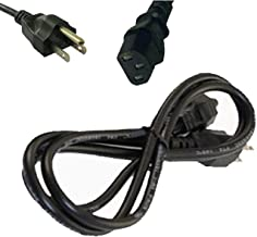 UpBright New 3-Pin AC in Power Cord Cable Replacement for Bose Lifestyle Subwoofer PS18, PS28, PS38 & PS48 III Powered Speaker System Roland FR-7 FR-7X FR-7XB FR7 FR7X FR7XB V-Accordion Piano