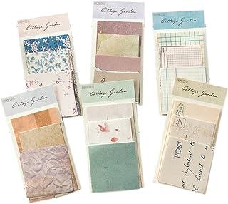 360 Feuilles Stickers Vintage Scrapbooking, Papier Décoratif Scrapbooking pour le Scrapbooking, Carnet De Voyage, Notes Ré...
