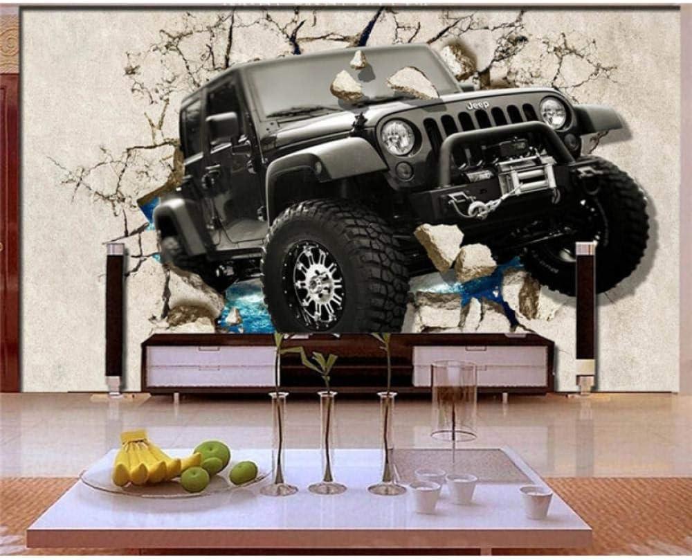 3D Custom Photo Mural Wallpaper Luxury car Wall 25% OFF Retro Superlatite Broken