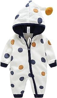 Famuka Baby Strampler Jungen Mädchen Babykleidung Herbst Winter Overall