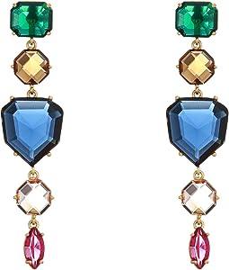Rock It Linear Earrings