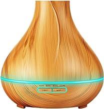 JiaMeng Humidificador Humidificador Aromaterapia, Aire 400 ml de Aceite Esencial Difusor Aroma Lámpara eléctrica - JMJS007