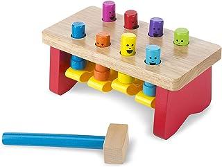 Melissa & Doug Deluxe Pounding Bench | Developmental Toy | Motor Skills | Problem..