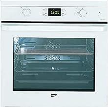 Beko BIE24301W - Horno (Medio, Horno eléctrico, 71 L, 71 L, Blanco, Botones, Giratorio)
