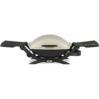 Weber 53060001 Q2000 Liquid Propane Grill,White