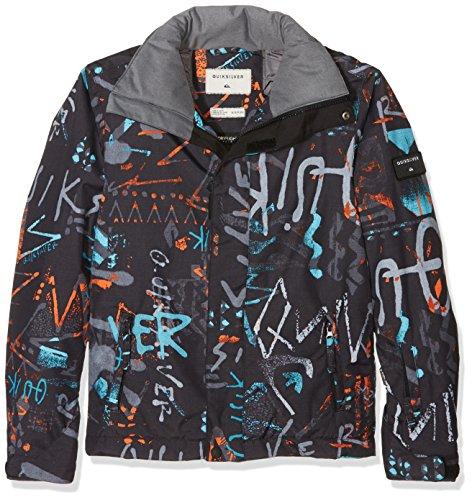 Quiksilver Jungen Mission Print Y B Snow Jacket, Mehrfarbig, 10/M