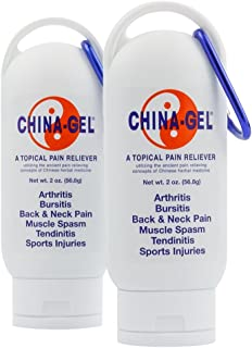 China-Gel - Topical Pain Reliever, 2 oz. (2 Pack)