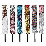 Fasce di paillettes Cute Hair Hoop Shiny Reversibile Non scivolare Stile sirena Decorazion...