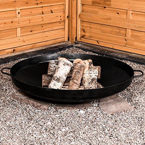 Garten Kumpel Klöpperboden mit Griffen Ø 79 cm Madrid Feuerschale Pflanzschale 41002