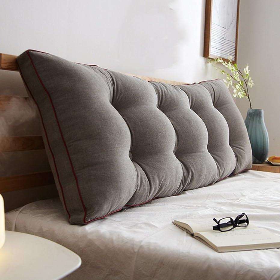 祖母花婿リレー18-AnyzhanTrade ウエストサポートパッド取り外し可能なベッドサイドダブルベッドルーム枕枕枕クッション (Color : D)