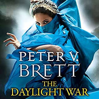 The Daylight War     The Demon Cycle, Book 3              By:                                                                                                                                 Peter V. Brett                               Narrated by:                                                                                                                                 Colin Mace                      Length: 26 hrs and 45 mins     1,269 ratings     Overall 4.7