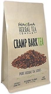 Cramp Bark Tea - Pure Herbal Tea Series by Palm Beach Herbal Tea Company (30 Tea Bags) 100% Natural
