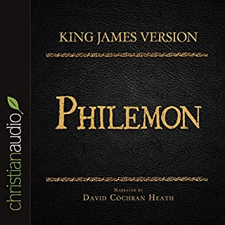 Holy Bible in Audio - King James Version: Philemon cover art