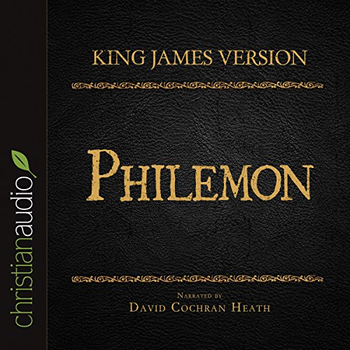 Holy Bible in Audio - King James Version: Philemon audiobook cover art