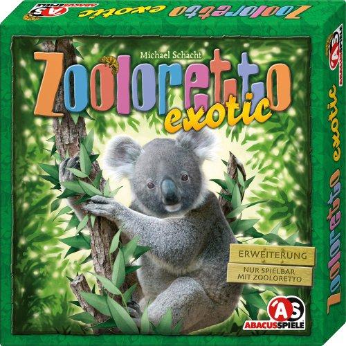 ABACUSSPIELE 04092 - Zooloretto exotic. 2. Erweiterung, Brettspiel